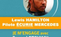 Élections Collectivité Territoriale de Martinique : Lewis Hamilton apporte son soutien à Serge Letchimy