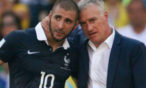 Didier Deschamps arrête de faire le CON...Karim Benzema revient en Équipe de France