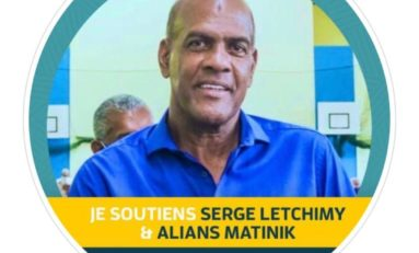 Serge Letchimy apporte son soutien à ...Serge Letchimy