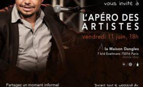RHUM STORE vous invite à l'apéro des artistes à Paris