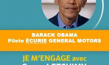 Élections Collectivité Territoriale de Martinique : Barack Obama apporte son soutien à Serge Letchimy
