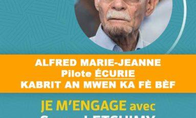 Élections Collectivité Territoriale de Martinique : Alfred Marie-Jeanne apporte son soutien à Serge Letchimy