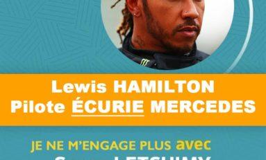 Lewis Hamilton ne soutient plus Serge Letchimy
