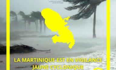 Martinique : Serge Letchimy est en vigilance jaune cyclonique