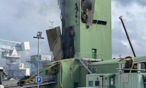 Forte explosion sur le port de Fort-de-France en Martinique