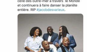 Hommage à Jacob Desvarieux...Olivier Faure fait très fort