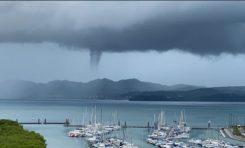 Image du jour 14/08/21 Trombe marine - Martinique -