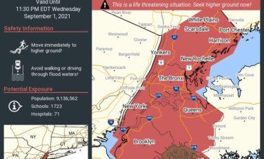 Ida aux Etats-Unis : inondations, dégâts, morts…