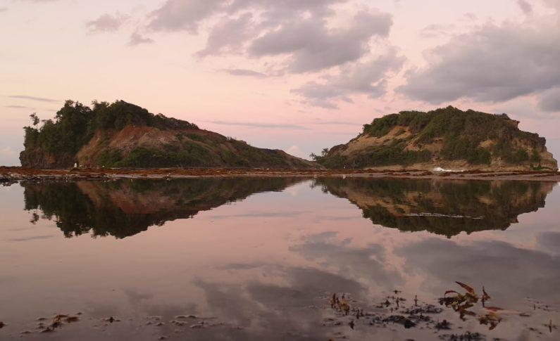 L'image du jour 19/09/21 - Le tombolo - Sainte-Marie - Martinique