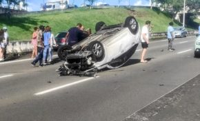 Nouvel accident en plein confinement en Martinique le ciel est par-dessus le toit...