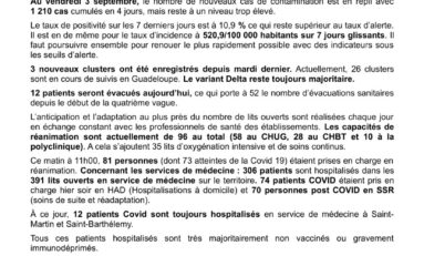 Covid-19 : 667 morts en Guadeloupe